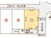 北梅本町分譲地区画図
