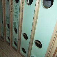 空調室をさらに断熱材で被覆して放熱を防ぐ