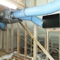 外部からの給気フィルターBOXと熱交換換気システム、および汚れた空気を回収するフィルターBOX
