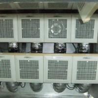 消費電力わずか5W程度のDCファン18台