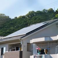 5.126KW搭載の太陽光発電。