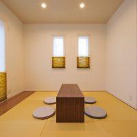 和室・・・和モダンで優しい雰囲気の和室